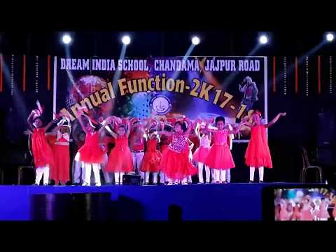 UKG Students of Dream India School, Jajpur Road Dance performance in Annual Function