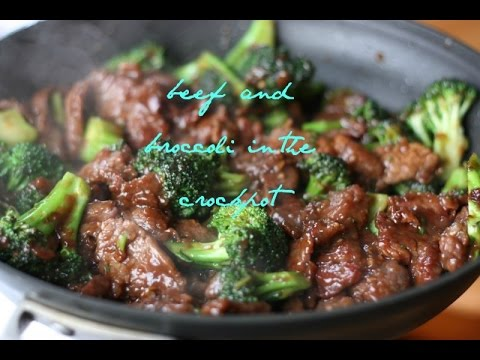 Beef And Broccoli In The Crockpot   #tastytuesday