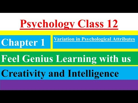Class12 Psychology Chapter1 Variations in Psychological