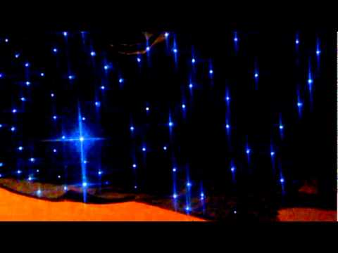 fondale led cielo stellato www lionservicegroup com - YouTube