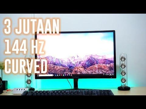 Monitor 144 Hz Murah? - Review Viewsonic VX2458