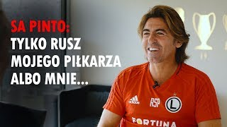 Ricardo Sa Pinto: Czerpię dużo z Mourinho, ale nie możesz prowokować cały czas