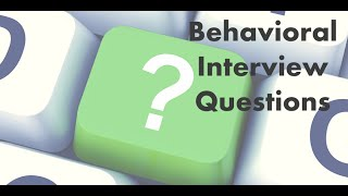 Why Do Interviewers Ask Behavioral Questions?  (5 of 6) thumbnail