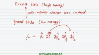 fsc chemistry book1 ch 6 lec 18 atomic orbital hybridization