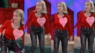 90's Leather Jeans chick from ITV show | CleverTrevor101