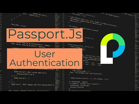 User Authentication in Node.Js Using Passport.js (passport-local)