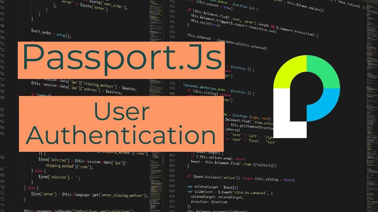 User Authentication in Node Js Using Passport js (passport-local)