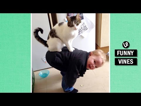 Thumbnail: TRY NOT TO BURST INTO LAUGHTER - Extremely FUNNY KID & BABY VINE compilation
