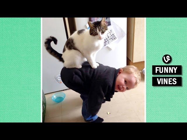 TRY NOT TO BURST INTO LAUGHTER - Extremely FUNNY KID & BABY VINE compilation