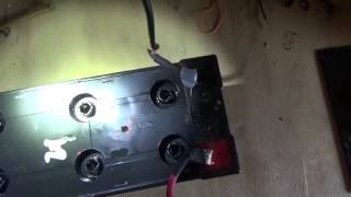 How To Refill & Restore Sealed Non Spillable Lead Acid Battery