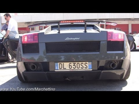 Lamborghini Superleggera BRUTAL Sound!