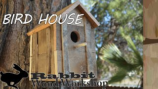 Rustic Bird House From Pallet Wood
