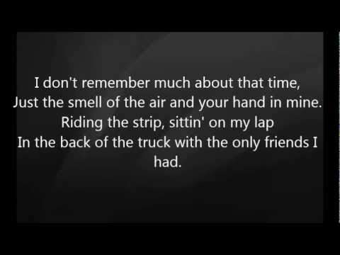 Luke Bryan - Faded Away with Lyrics