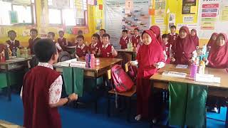 Salam dan Tepuk PPK (Penguatan Pendidikan Karakter) Kelas V A SDN 172 Sukamaju 1
