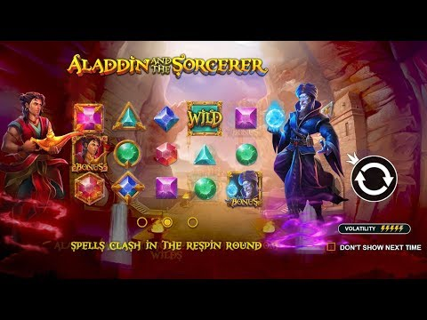 Aladdin And The Sorcerer (Pragmatic Play) Online Slot