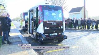 Yvelines | Innovation : Des navettes autonomes au plateau de Satory