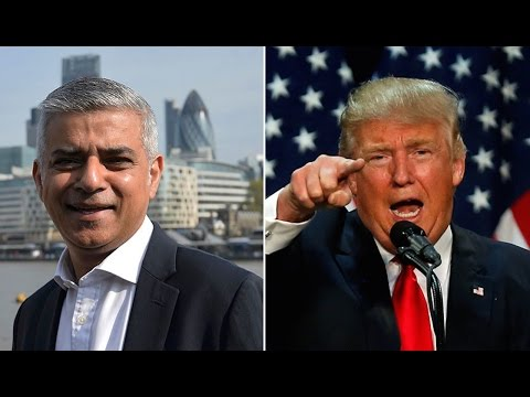 London Mayor Hits Trump On Muslim Ban