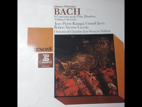 J-S BACH Concertos pour 3 clavecins in UT Major BWV 1064  (Jean-François PAILLARD)