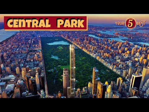 CENTRAL PARK Best of New York City Drone Video