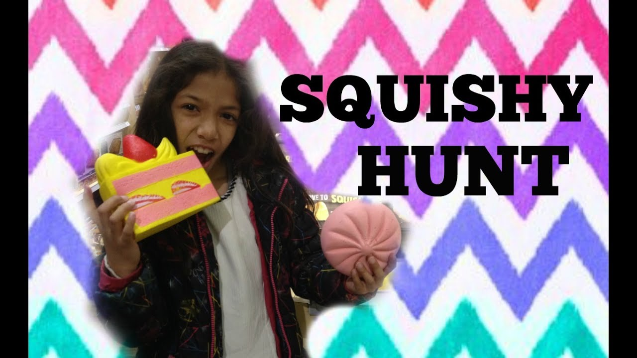 Squishy Hunting : SQUISHIES EVERYWHERE!!! Squishy hunt at a mall Slow rising, Hello Kitty ect... - YouTube