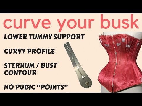 How to Bend Your Corset Busk (EVERYTHING you need to know) | Lucy's Corsetry