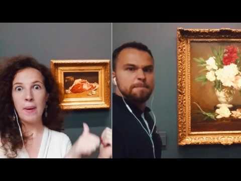 Manet or Monet ? OK We Go To Paris !