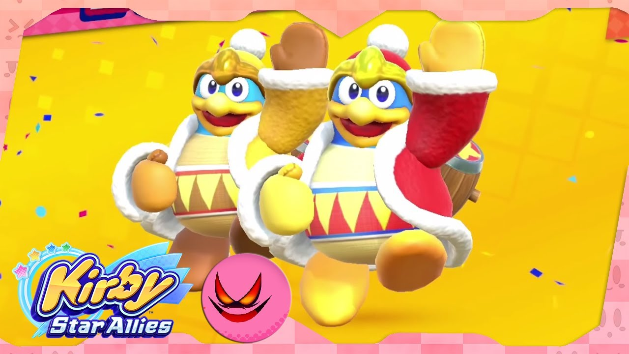 2 King Dedede vs Soul Melter | Kirby Star Allies ᴴᴰ (2018)