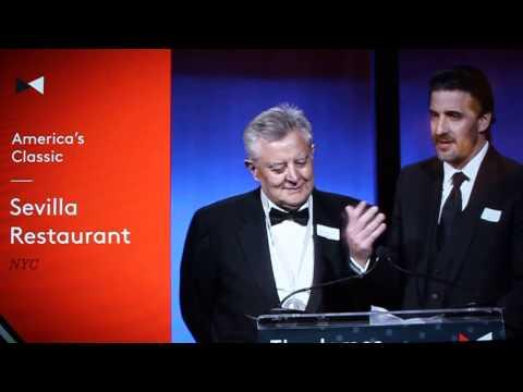 Sevilla Restaurant James Beard Award America's Classics Acceptance Speech