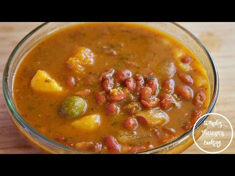 How To Make Spanish Beans | Habichuelas Guisadas