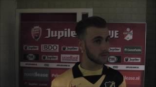 BSR TV: Danny Verbeek na FC Emmen-NAC (0-0)