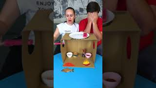 Very Funny Food Challenge #shorts Funniest Tiktok video by Tiktoriki