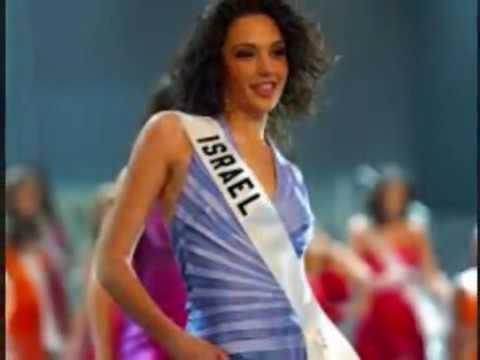 Wonder Woman GAL GADOT in MISS UNIVERSE 2004