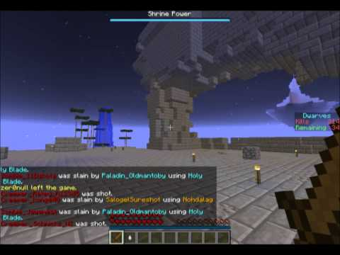 PlayMindCrack Minecraft Mini-Games Server #5A - Dwarves vs Zombies.....and Trolls?