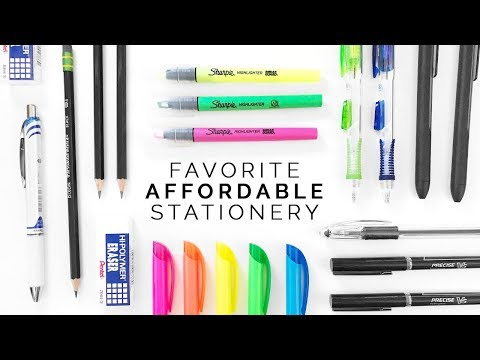 Best Affordable Stationery