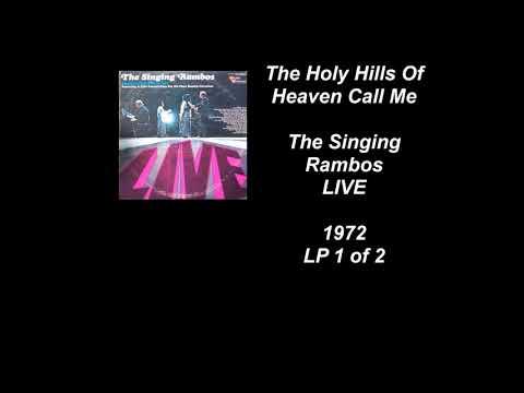 The Singing Rambos LIVE  1972 LP 1 of 2 Full Album