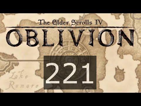 TES IV Oblivion #221 Пристрастие и все главные навыки прокачены до 100