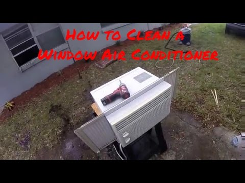 How to Clean Your Window Air Conditioner