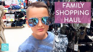 Pep & Co Family Shopping Haul With Channel Mum | Ad