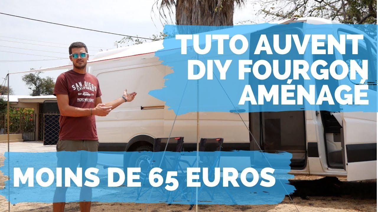 tuto diy comment construire un auvent pour votre van moins de 65 euros