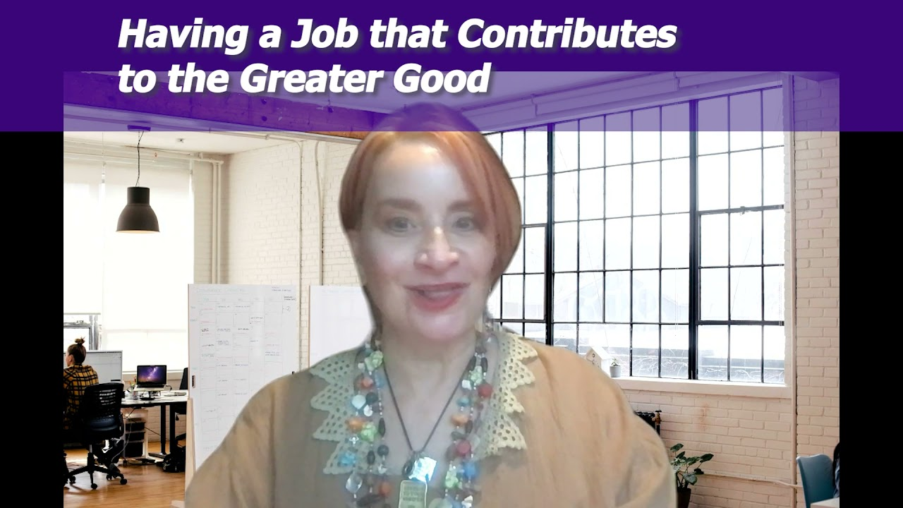 Episode 502: Ways to Get a Job that Contributes to the Greater Good