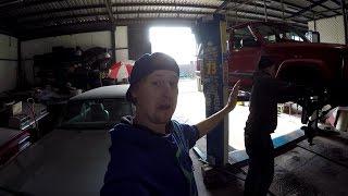 retard garage! Sundání ochranného rámu z Jeepa...