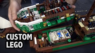 LEGO Pirate Ship with Full Interior | Brick Fiesta 2018