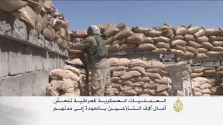 العمليات العسكرية العراقية تنعش آمال النازحين بالعودة