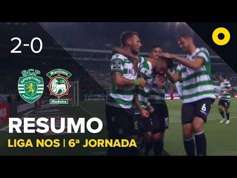 Sporting 2-0 Marítimo - Resumo | SPORT TV