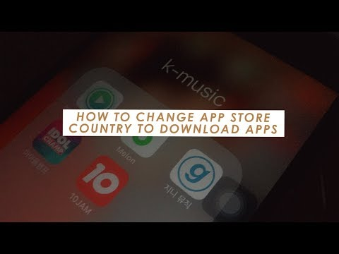 How to Change your App Store Country to Korea to download Melon, Genie etc.