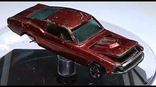 Redline Restoration: Hot Wheels 1968 Custom Mustang