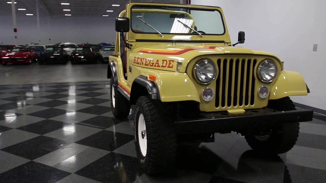 4231 cha 1981 jeep cj5 renegade [ 1280 x 720 Pixel ]