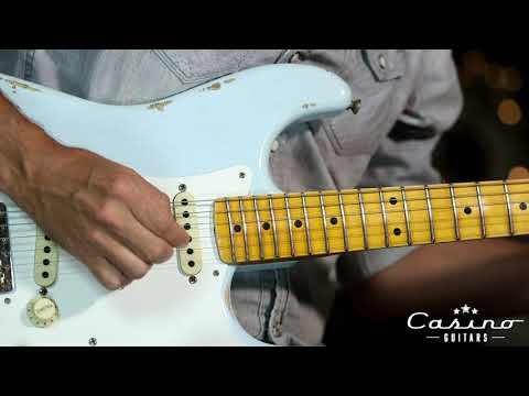 Fender Custom Shop Stratocaster Limited 56 Strat Faded Sonic Blue
