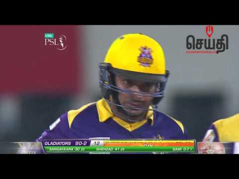 Kumar Sangakkara 55 runs in PSL Final - Highlights