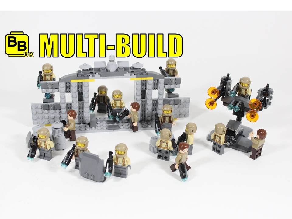 how to build a lego bunker